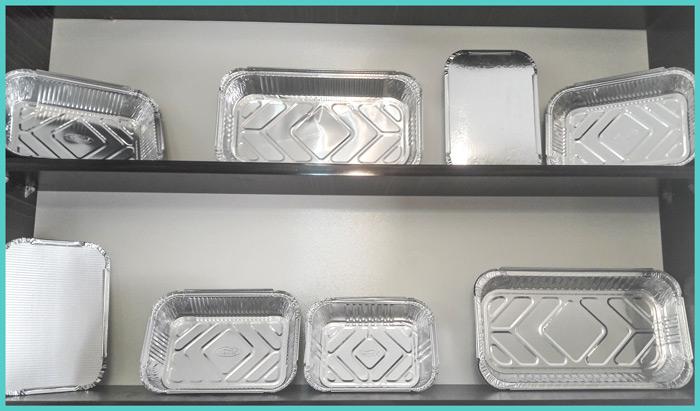 محصولات یکبار مصرف آلومینیومی