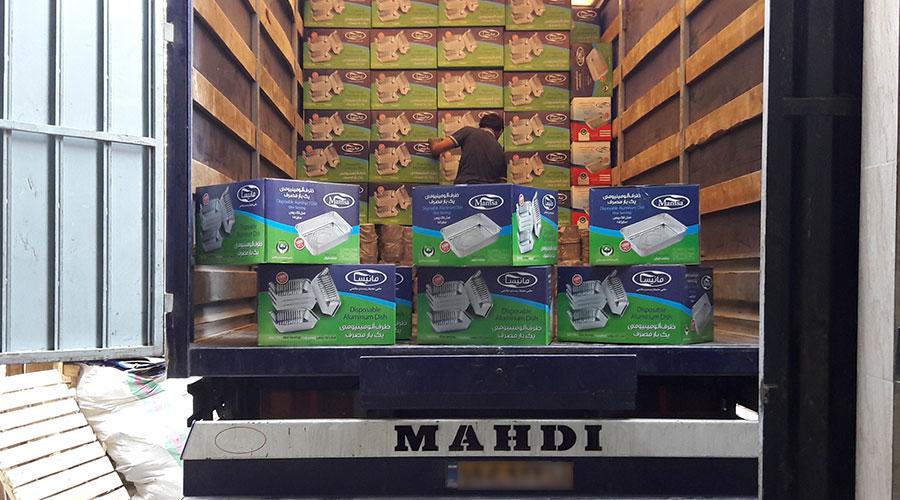 ارسال ظرف یکبار مصرف مانیسا به سراسر کشور