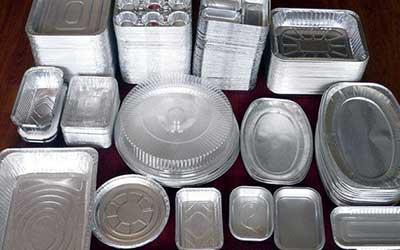 فروش ظروف آلمینیومی فویل