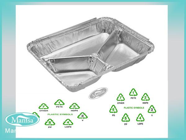 ظروف یکبار مصرف آلومینیومی پر مصرف