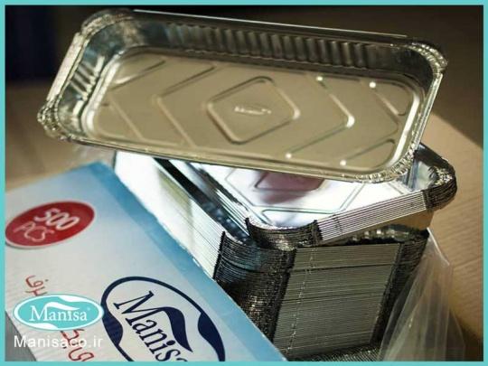 تولید و پخش ظرف غذا یکبار مصرف کبابی