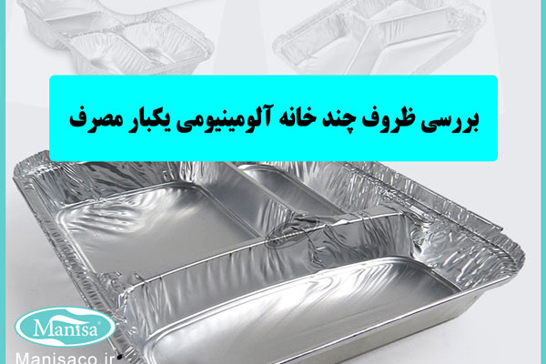 بررسی ظروف چند خانه آلومینیومی یکبار مصرف